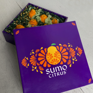 Sumo Citrus Gift Box Partially Open